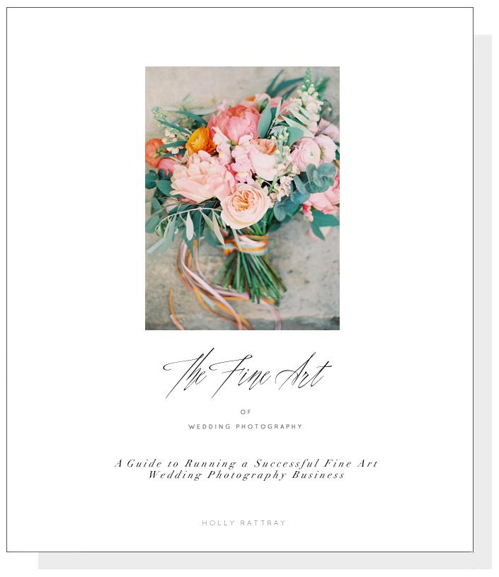 Fine Art Wedding Photography Book